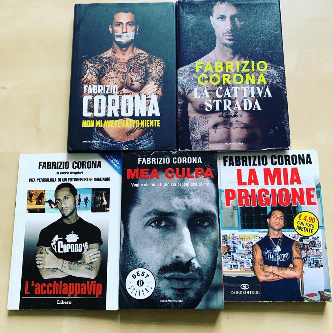 Fabrizio Corona Instagram figlio Carlos