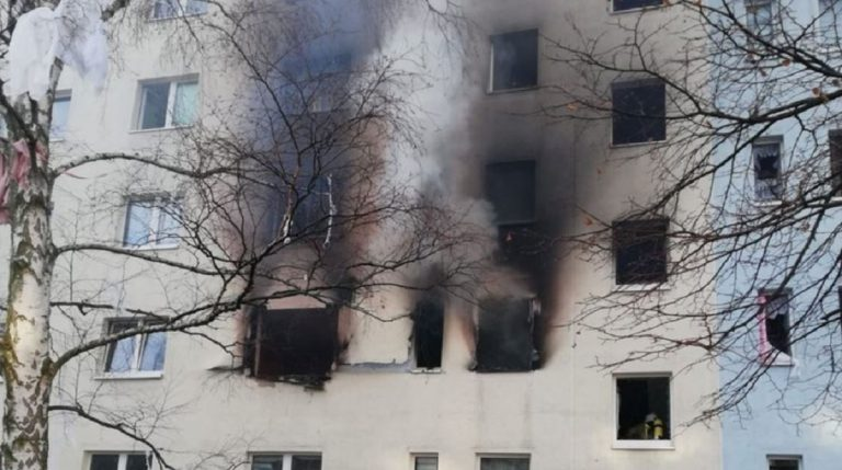 esplosione condominio germania