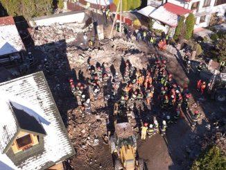 L'esplosione in Polonia