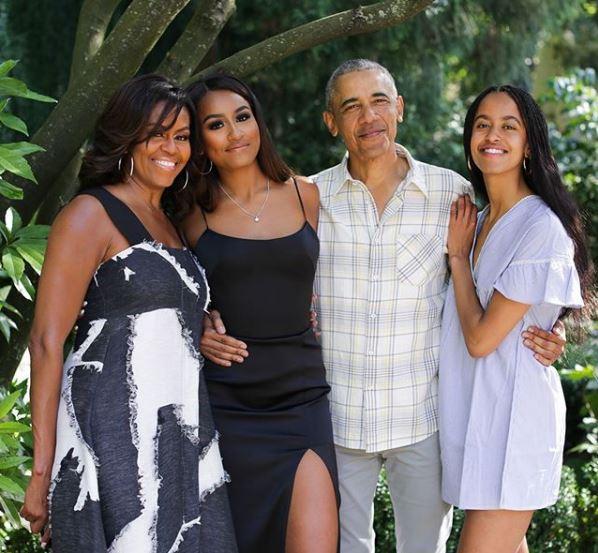 Famiglia Obama Instagram