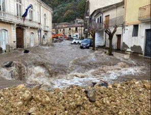 fiume interrato Avellino