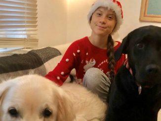 Greta Thunberg auguri di Natale