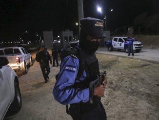 La polizia in Honduras