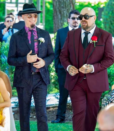 matrimonio space one j-ax testimone