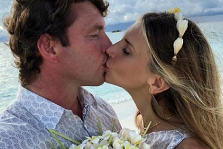 Nicoletta Romanoff Matrimonio Maldive