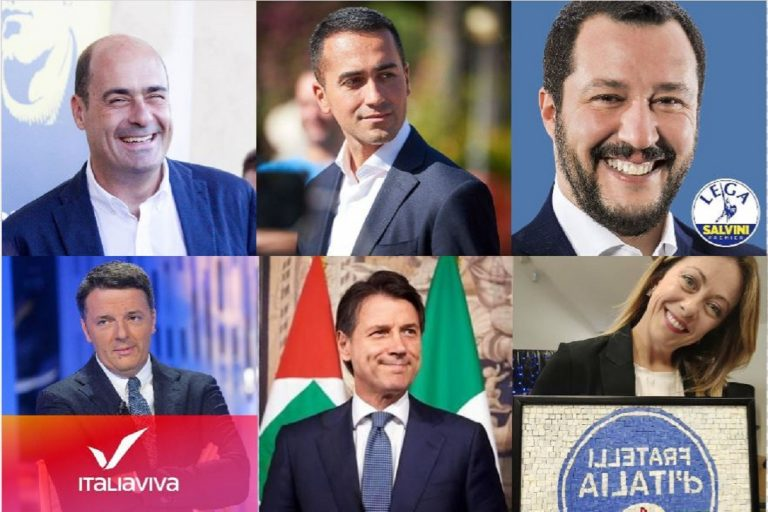 Politici italiani più seguiti sui social 2019