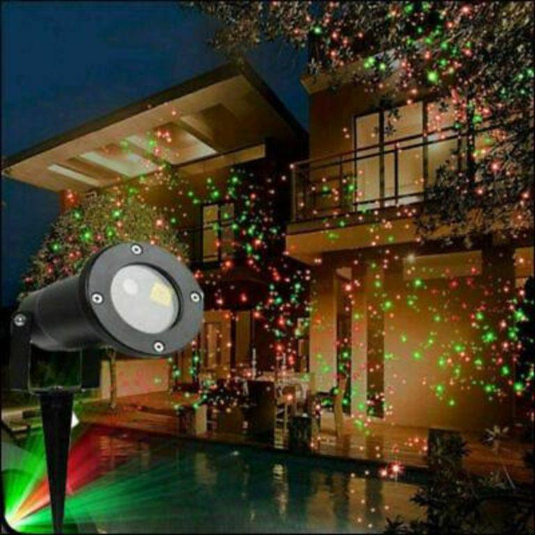 proiettore di luci per Natale