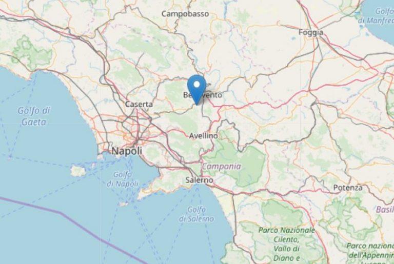 terremoto benevento