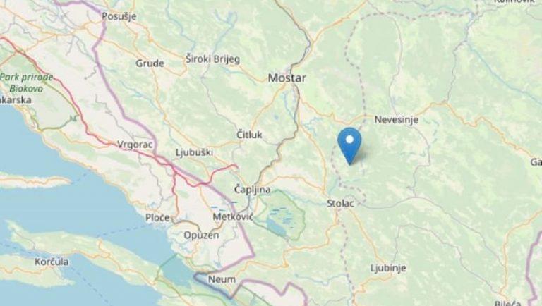 terremoto bosnia