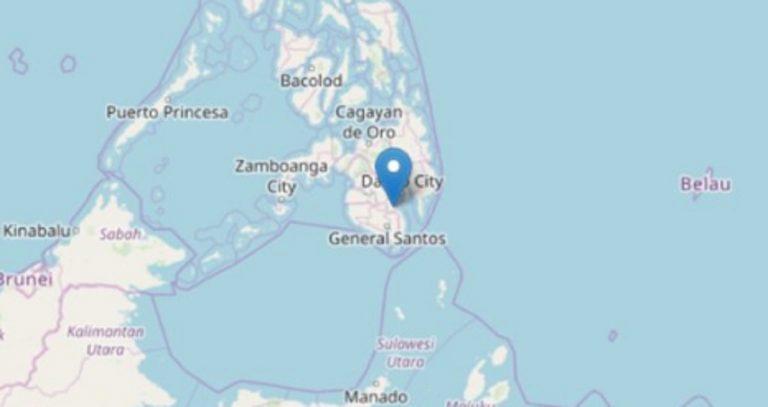 Filippine, terremoto di magnitudo 6.8 nell'isola di Mindanao