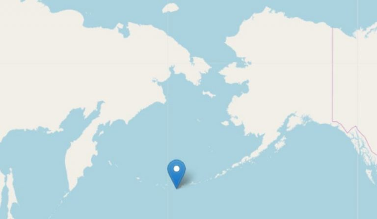 terremoto isole andreanof