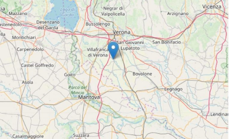 terremoto a verona