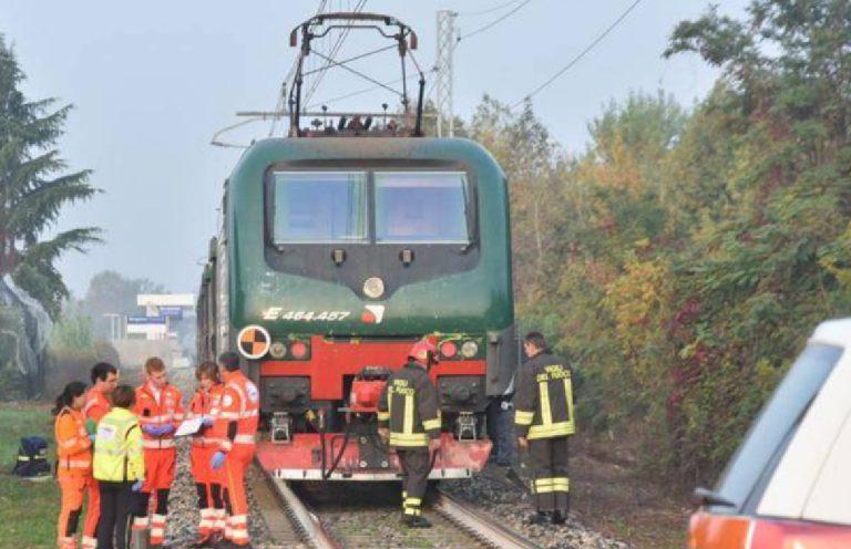 Uomo travolto treno Modena