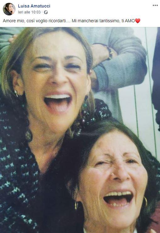 Morta la madre di Luisa Amatucci, l'attrice di Un Posto al S