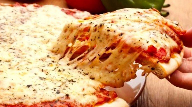 vetro nella pizza
