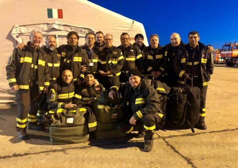 terremoto Albania Vigili del fuoco