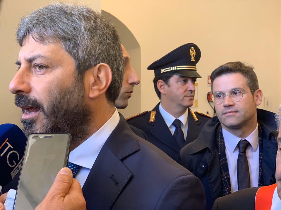 Gianluca Rospi, ex M5s