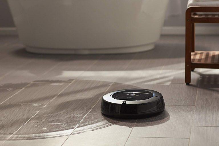 Lavapavimenti robot.