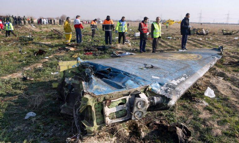 aereo caduto iran