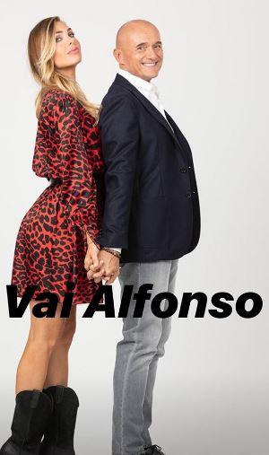 Ilary Blasi ad Alfonso