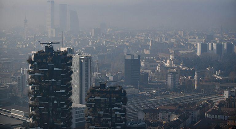 allarme smog in italia
