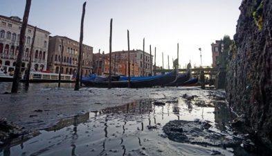 bassa marea Venezia
