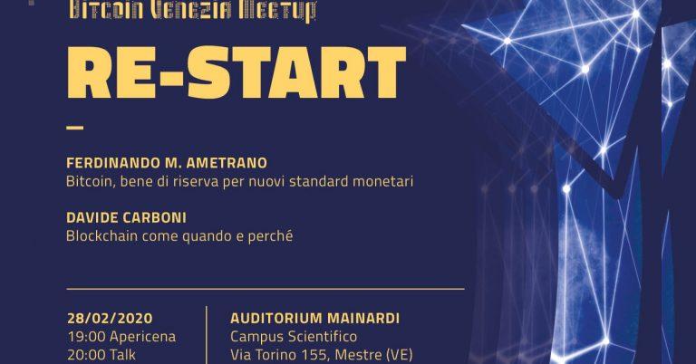bitcoin venezia meetup 2020