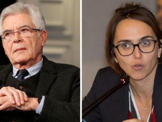 Claudio Martelli e Lia Quartapelle