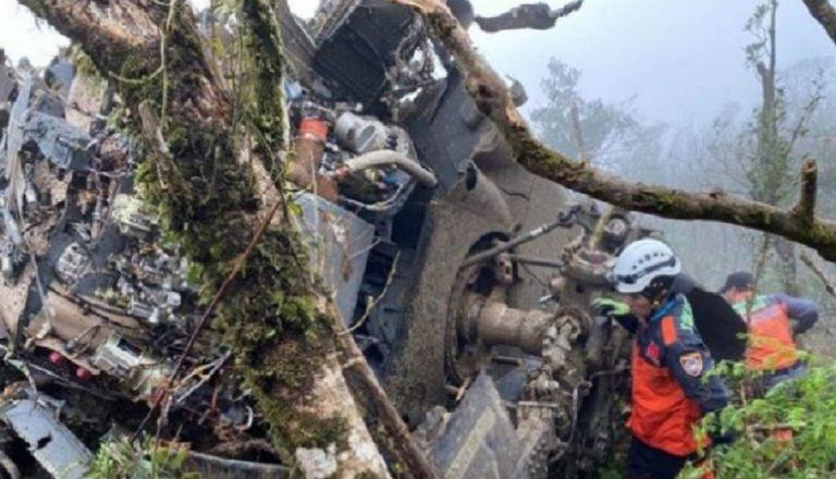 elicottero militare precipitato taiwabn
