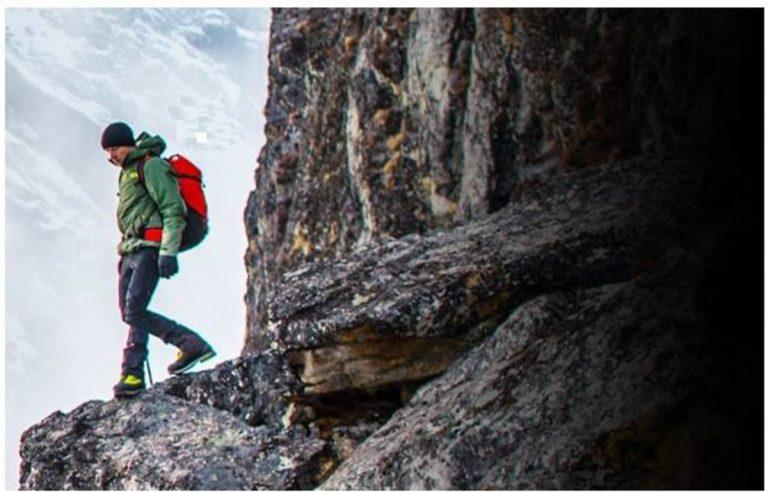 giacca a vento da trekking