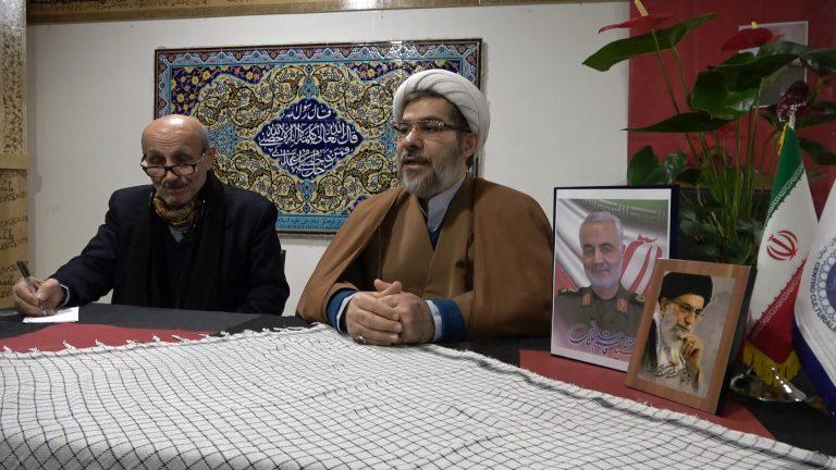 Imam Alì Faeznia, reportage sul conflitto militare iraniano
