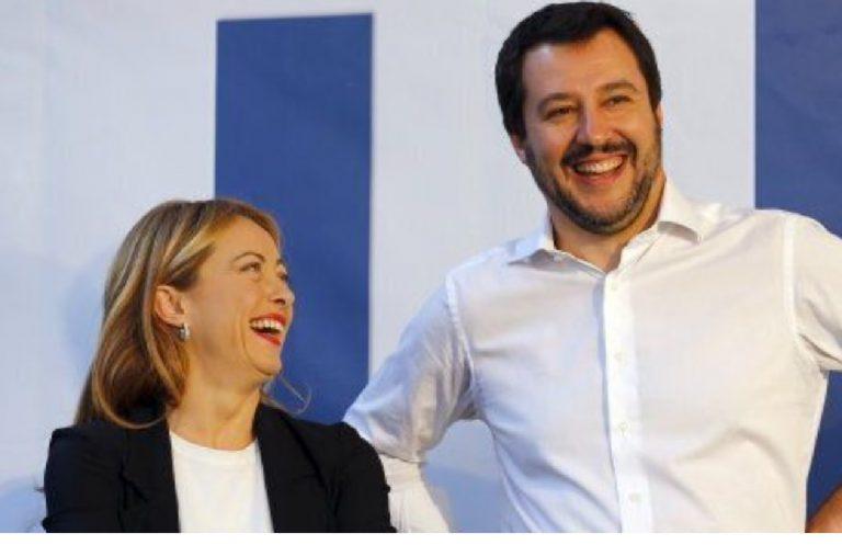 Meloni sorpassa Salvini