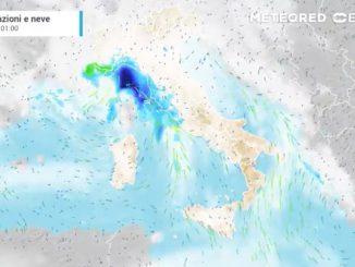 meteo maltempo italia