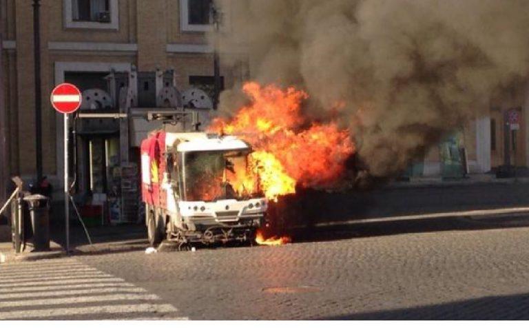 mezzo ama fuoco roma