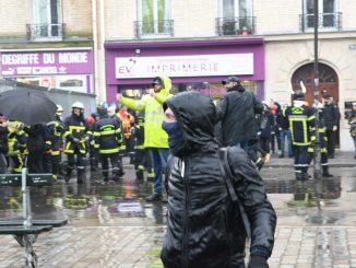 Parigi vigili del fuoco