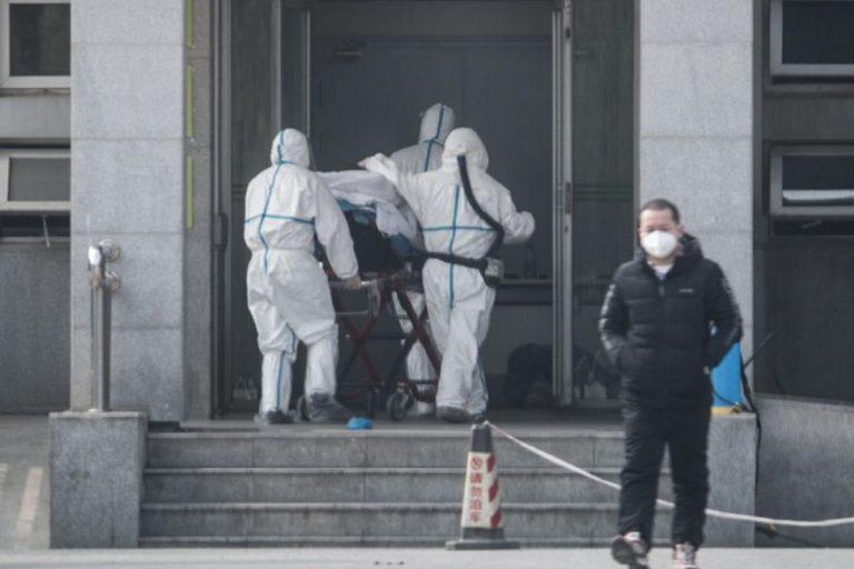 Virus cinese infettato primo europeo