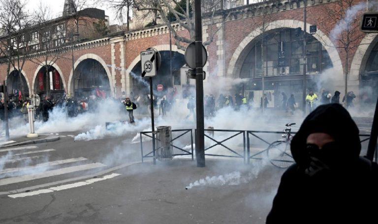 scontri francia