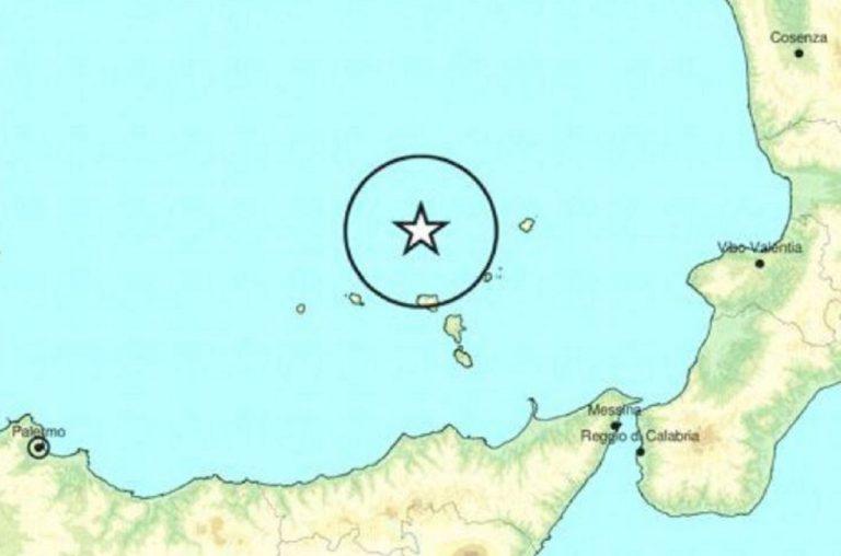 terremoto mar tirreno meridionale