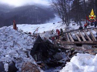 Tre anni fa la tragedia di Rigopiano
