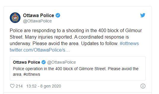 tweet ottawa police