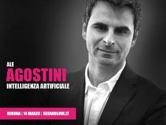 Ale Agostini, relatore SEO&love 2020