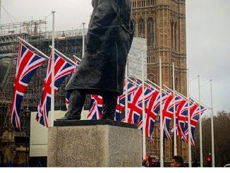 Brexit volantino inglese