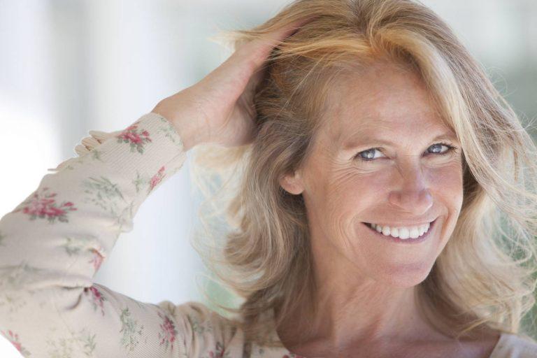 Caduta capelli in menopausa.