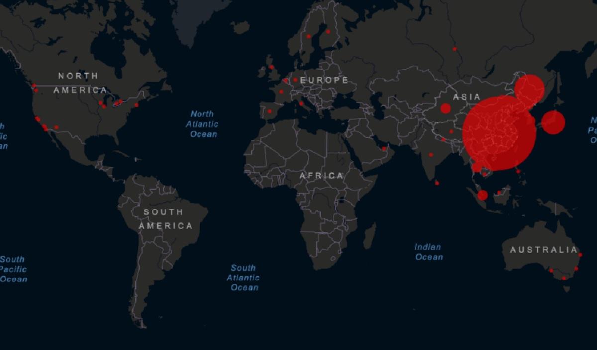 Coronavirus, mappa dei contagi: Italia prima in Europa per n