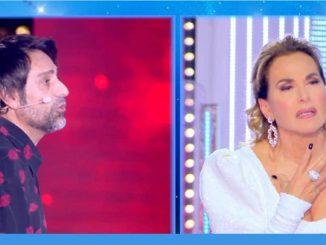 Barbara D'Urso e Pietro Delle Piane