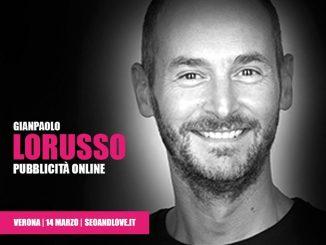 Gianpaolo Lorusso, relatore SEO&love 2020