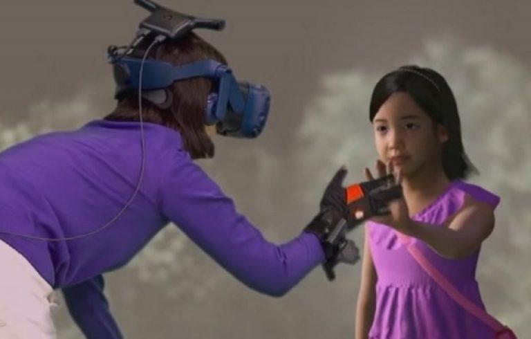 mamma incontra figlia morta realtà virtuale