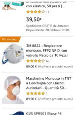 Coronavirus, blitz guardia di finanza per prezzi folli su Am
