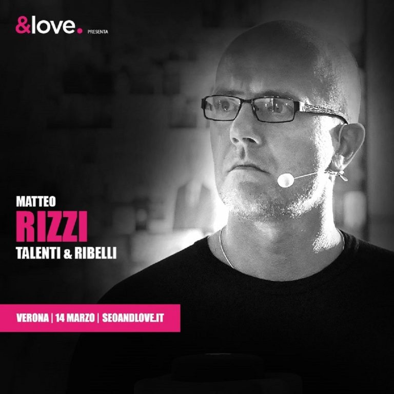 Matteo Rizzi, relatore SEO&love 2020