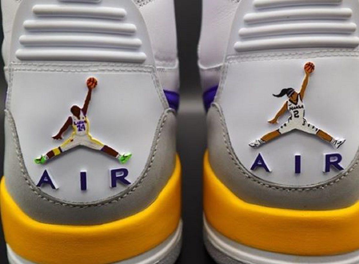 Morte Kobe e Gianna Bryant |  sneakers personalizzate in loro onore
